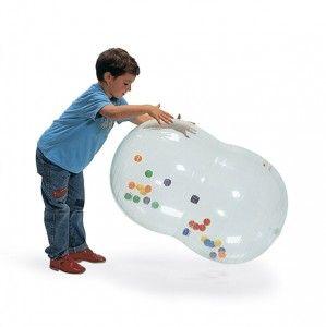 piłka z kulkami wewnątrz ACTIVITY BALL owalna 50 cm/90 cm