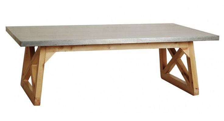 Argo Cross Leg Coffee Table