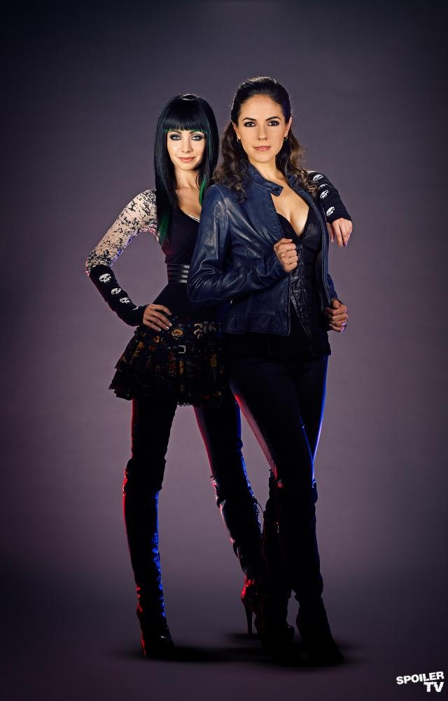 Lost Girl - Bo and Kenzi. One of my guilty pleasures!!