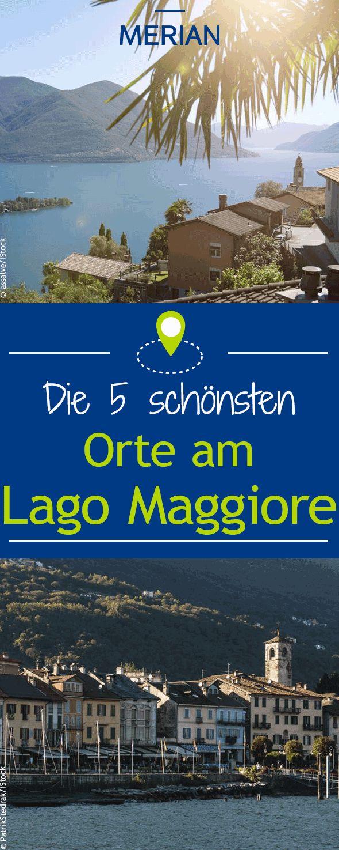 Eine landschaftliche Lage, die begeistert: Der Lago Maggiore liegt in den italienischen Regionen Piemont und der Lombardei sowie im Schweizer Kanton Tessin. Wir sagen euch welche Plätze sich besonders lohnen.
