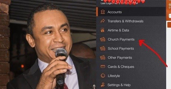 On Air Personality Daddy Freeze has reacted to the new development in the Nigerian banking system where folks can now make all sorts of Church payment through their Mobile Banking App.  He took to his Instagram page to share screenshots of some churches he found on the mobile banking App platform and revealed that it makes no sense to him.  Freeze also wondered why mosques or Buddhist temples dont have accounts on public banking apps unlike most Pentecostal churches.  See what he wrote below…