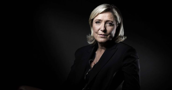 After Brexit and Trump, the National Front's leader foresees a trifecta for the West's far right when France votes next spring. LePen.