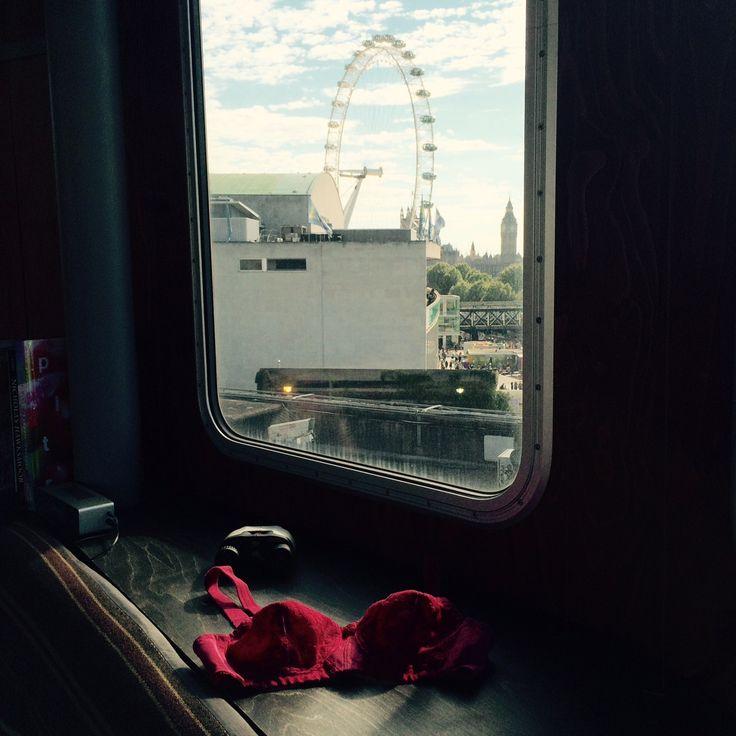 #pink #doreen #aroomforlondon #southbank #livingarchitecture #londoneye #bigben #housesofparliment #triumph #lingerie