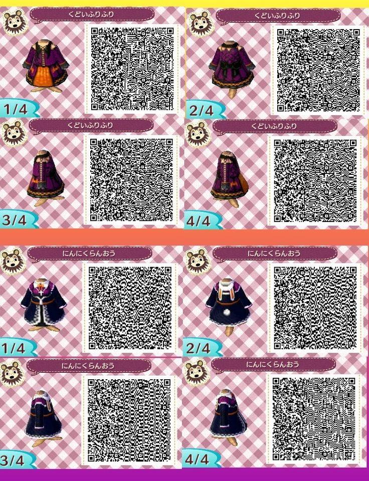 Halloween dresses animal crossing new leaf qr code acnl for Animal crossing new leaf arredamento