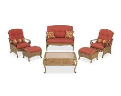Lovely Hampton Bay Sanopelo Patio Furniture Set Replacement Cushions Part 26
