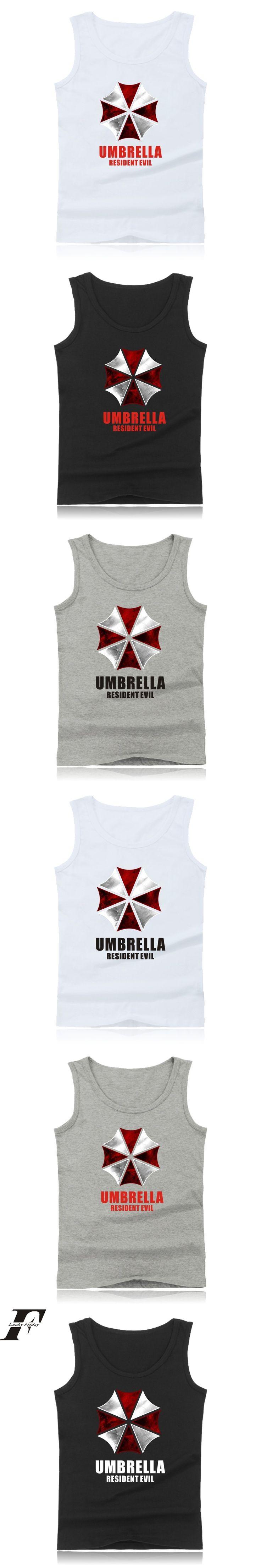 bodybuilding Resident Evil Summer Mens fitness Tank Top Movies  clothing Game Of Terror regatas masculino blusa masculina