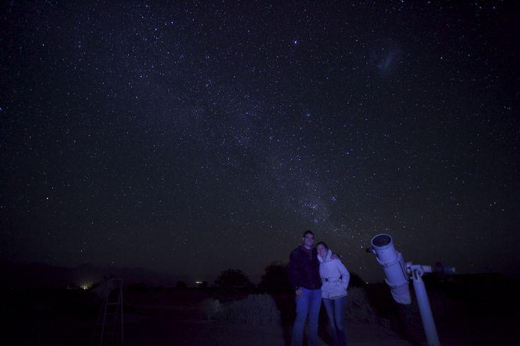 Espectacular cielo el de Atacama. Jamás disfruté con un cielo tan limpio y puro. Atacama, Chile.