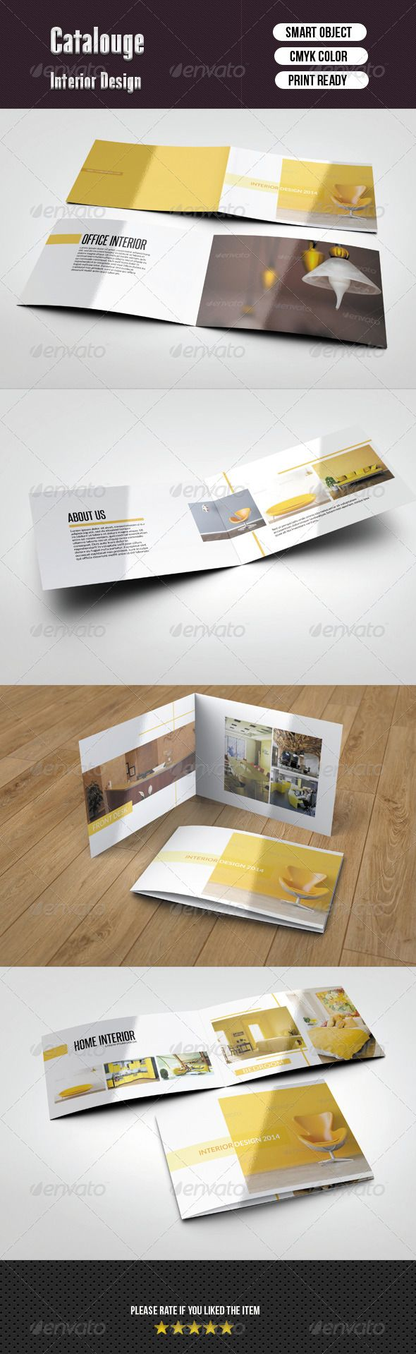 interior catalog catalogs brochures graphic design