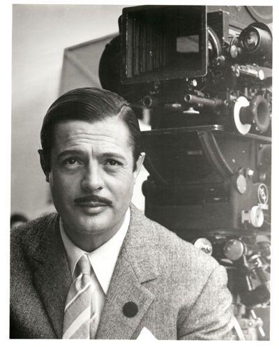 Marcello Mastroianni on the set of Divorce Italian Style (Pietro Germi, 1962)
