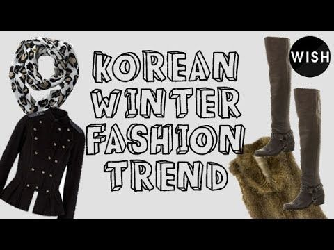 ▶ Korean Winter Fashion Trend Report - Campus Fashion - YouTube