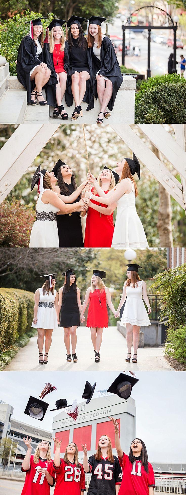 Senior session with your besties!!! :) University of Georgia | Delta Gamma sorority sisters | UGA Senior Graduation Photos | Athens GA Photographer