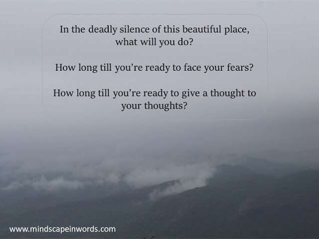 Are You Scared Of Being Left Alone With Your Thoughts Diary Logs 17 Are You Scared Smile Quotes Thoughts