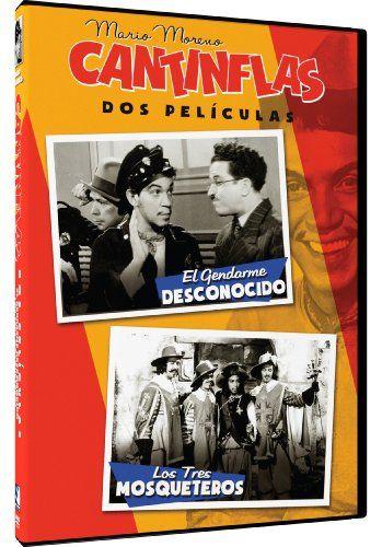 Cantinflas Double Feature: El Gendarme Desconocido/Los Tres Mosqueteros