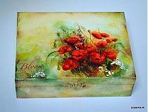 Krabičky - Vlčie maky na lúke - 2496992