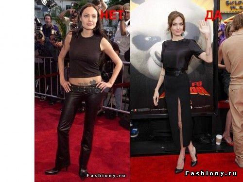 Стиль звезды: фигура и одежда. Продолжение (тип Перевернутый треугольник) / фото одежды по типу фигуры треугольник