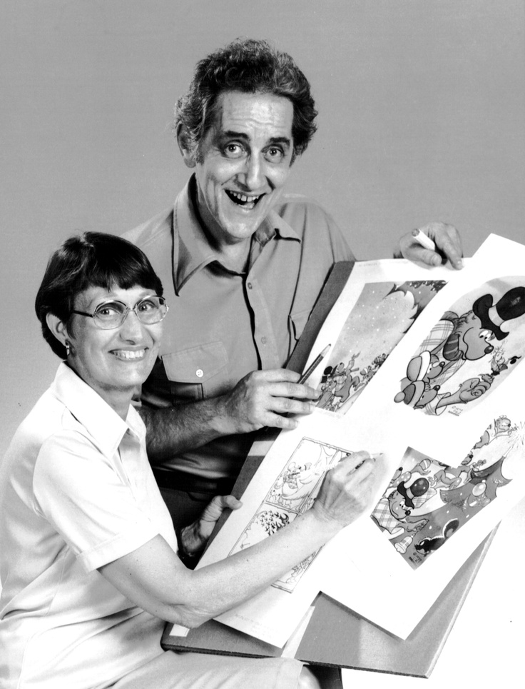 Stan and Jan with their Berenstain Bears - Join us in pinning your favorite pictures or memories #Berenstain50