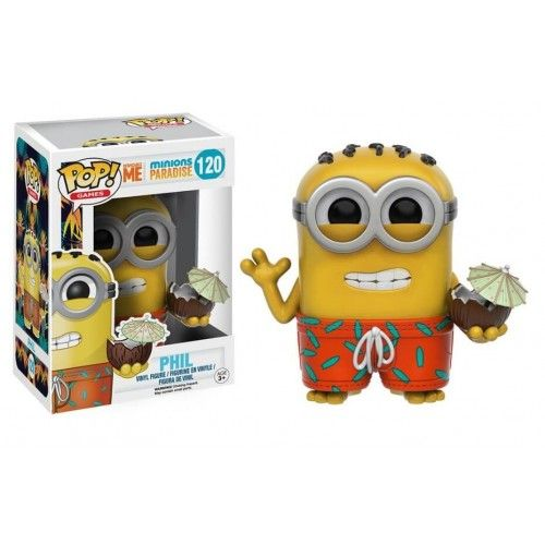 Funko Phil, Minions Paradise, Despicable Me, Meu Malvado Favorito, Funkomania, Cartoon