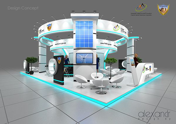 Exhibition Booth Design D : Exhibition stand designe on behance