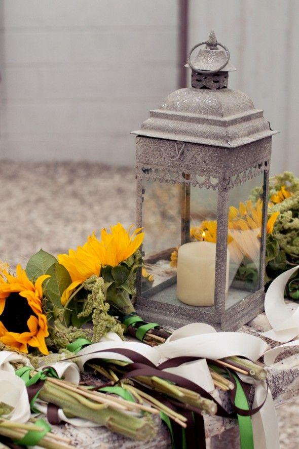Sunflower Themed Country Wedding: Melissa   Matthew