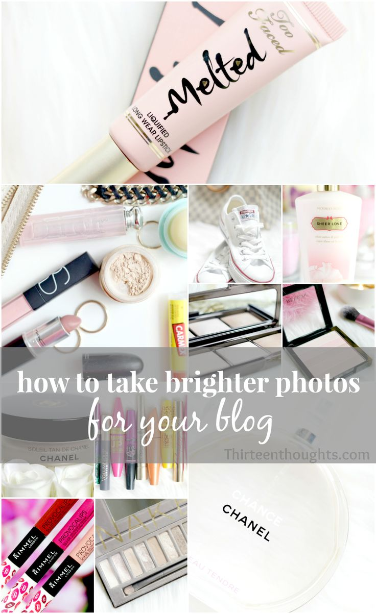 Ever wonder how to get your blog photo's bright and beautiful? Check out this blog post on just how to do so.
