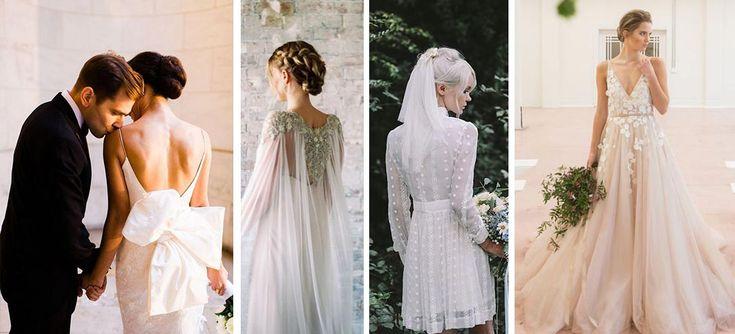 Si te casas el próximo año y tu estilo es más relajado y juvenil, te dejamos 10 vestidos de novia hippie ideales para usar en el 2018.