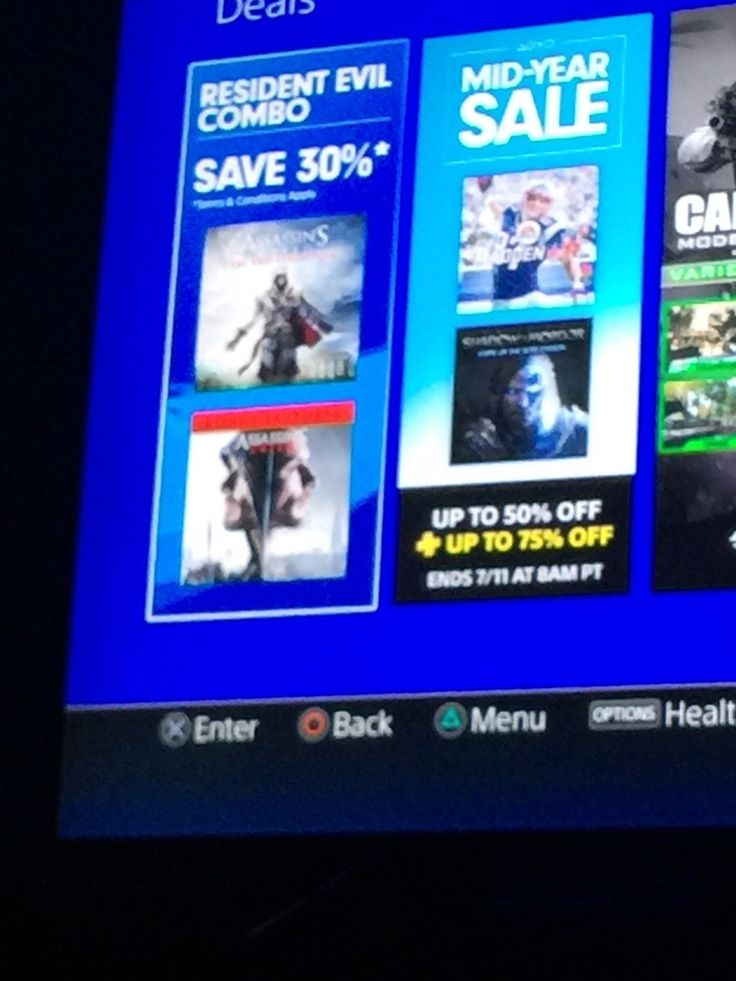 [screenshot] Good news! Resident Creed game and Assassin's Evil movie are on sale! Lol. #Playstation4 #PS4 #Sony #videogames #playstation #gamer #games #gaming