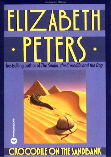 crocodile on the sandbank by Elizabeth Peters - the very first in the fabulous Amelia Peabody series set in Victorian England, but mostly in Egypt. Great fun.  (And when you finish the series, you will always remember that Howard Carter discovered King Tut's tomb.  Useful in a crossword.)