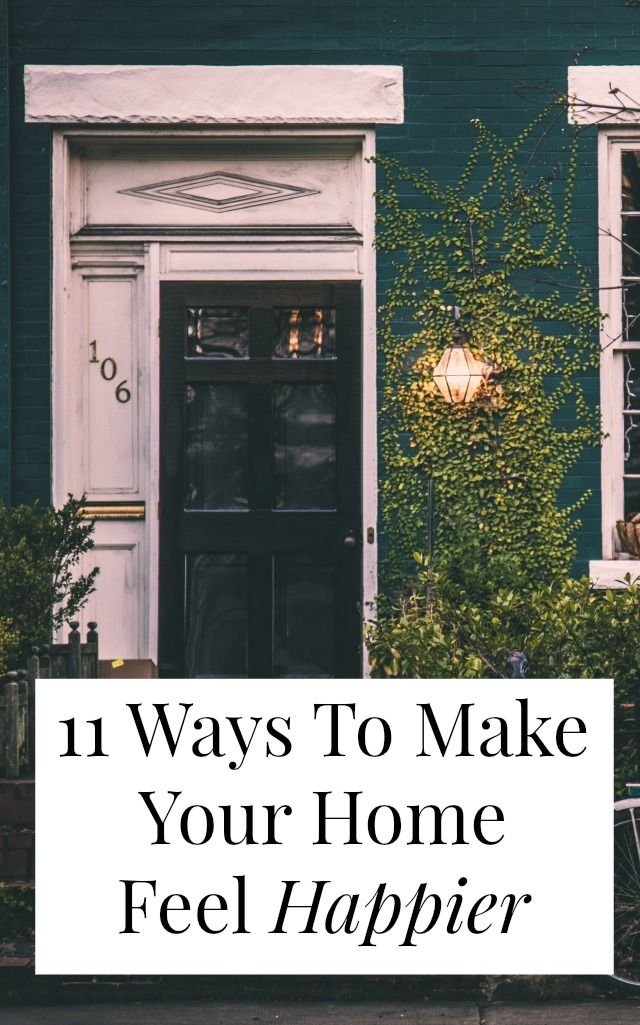 Most of us know how to decorate our space, but how do you make your home feel happier? How do you make it feel more like YOU? Click through for 11 cheap, doable decorating tips that will help make your home a happier place! >> yesandyes.org