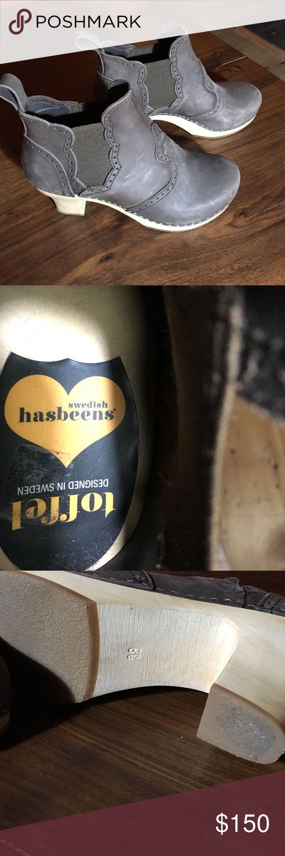 Swedish Hasbeens clog boot New never worn Swedish clog by Hasbeens Hasbeens Shoes Heeled Boots