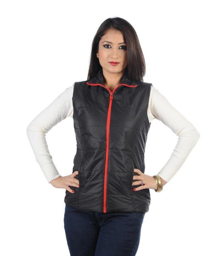 Hugo Chavez Sporty Black Jacket, http://www.snapdeal.com/product/hugo-chavez-sporty-black-jacket/1724991894