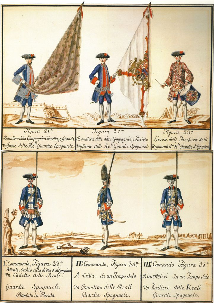 The Spanish Infantry Guards and Walonas de Felipe V | Alabarda Blog