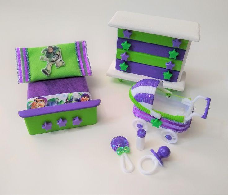 Lol Surprise Doll Custom Wood Dollhouse Furniture Set Toy