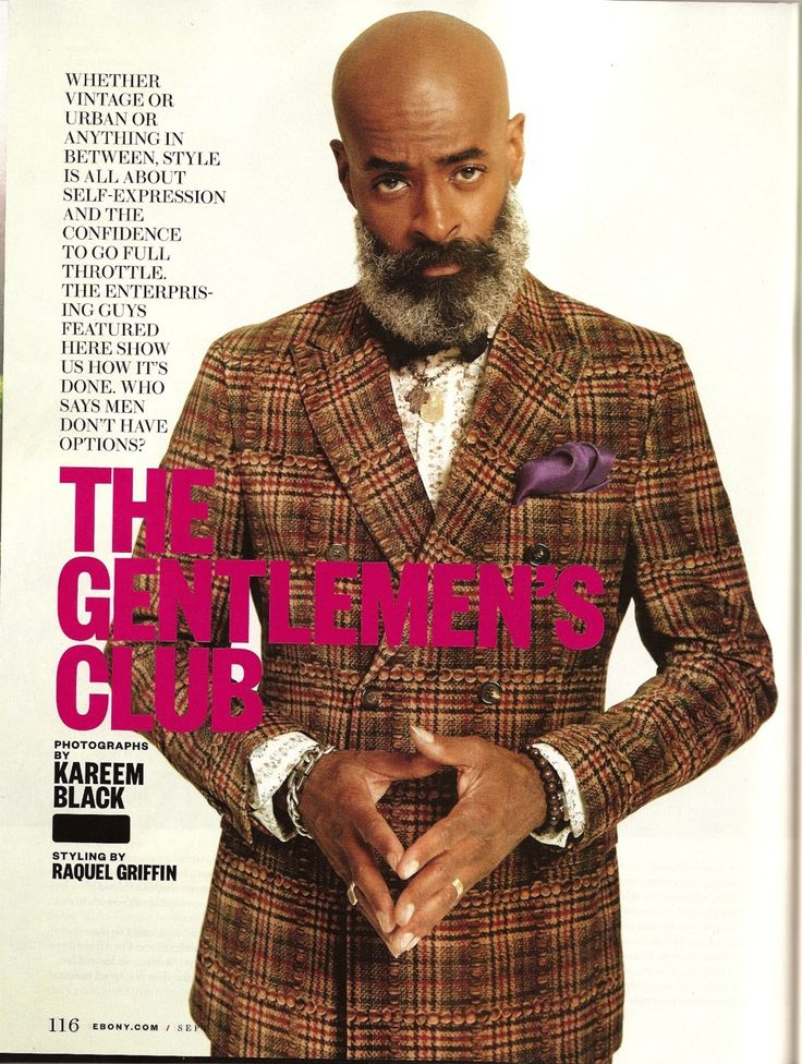 Gentleman's Club - Ebony Magazine. Our good friend Kevin Stewart