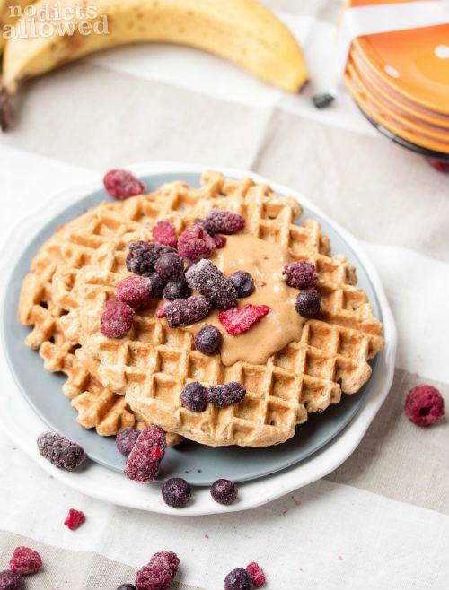 Multigrain Waffles http://www.nodietsallowed.com/multigrain-waffles/