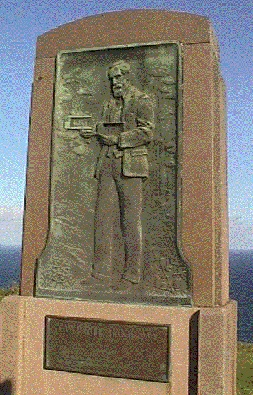 This monument at Bald Hill overlooking Stanwell Park beach south of Sydney's Royal National Park is dedicated to Australian aviation pioneer Lawrence Hargrave (1850-1915), recognised as the father of modern aviation. Here, on November 12, 1894, Hargrave, the Australian inventor of the box kite, linked four of his kites together, added a sling seat, and flew 16 feet in the air to prove that man could fly. This inspired the development of flying machines.