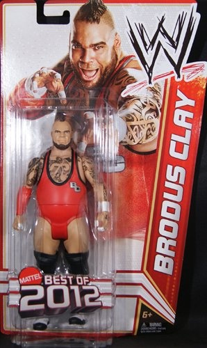 "BRODUS CLAY - WWE SERIES ""BEST OF 2012"" TOY WRESTLING ACTION FIGURE"