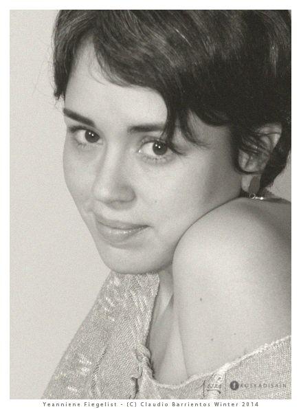 Trabajo fotográfico para Yeanniene Fiegelist.  Set a domicilio.