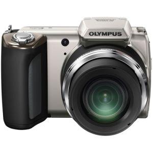 Olympus SP-620UZ 16MP Digital Camera with 21x Optical Zoom (Silver) | Uhaggled.com