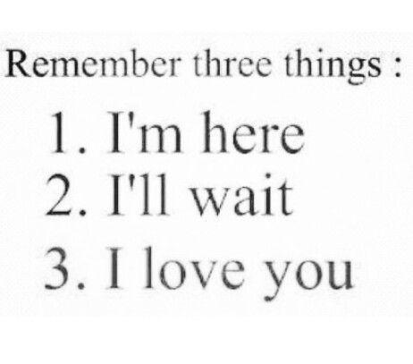 3 things...