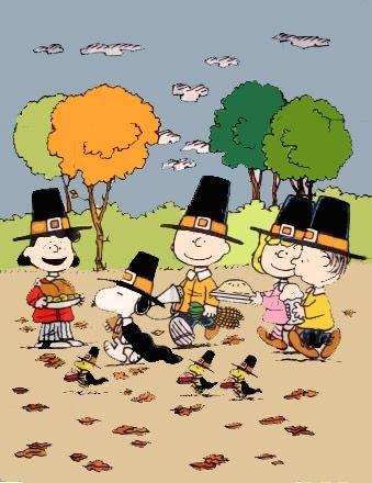 Peanuts Gang Thanksgiving