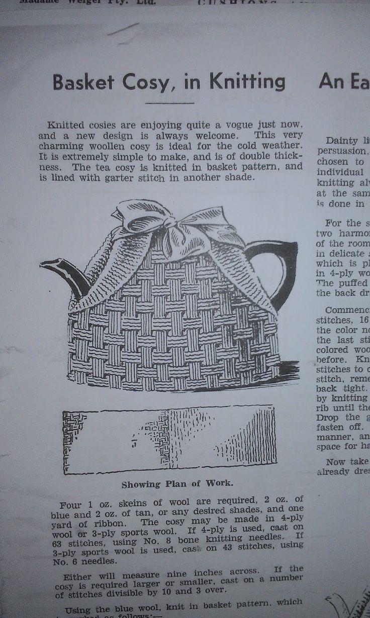 1323 best Tea_cosies images on Pinterest | Knitting stitches, Tea ...