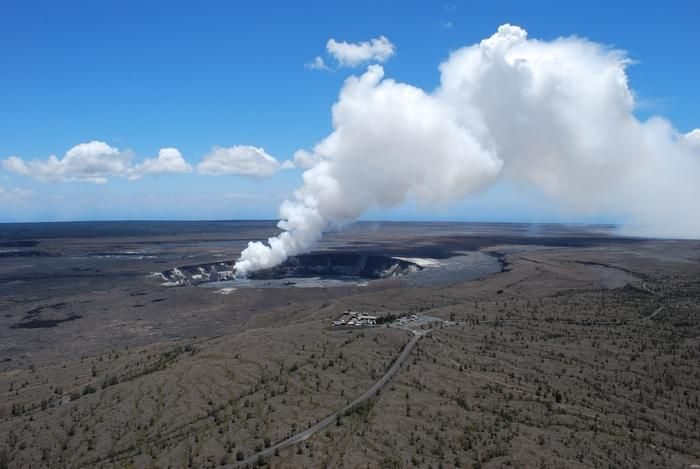 Scientists find large magma chamber under Hawaii's Kilauea volcano 1/30/14
