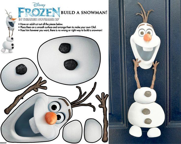 Olaf for door decor