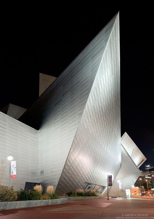 Denver Art Museum | Studio Daniel Libeskind © Andrew Prokos | Archinect