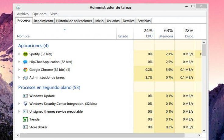 cómo detectar virus con el administrador de tareas