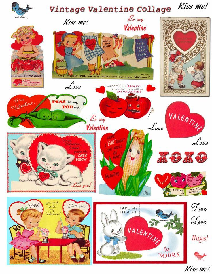 48 best Vintage valentine Cards  Tigers Lions  Leopards images