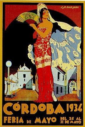 Beautiful poster of Cordoba.