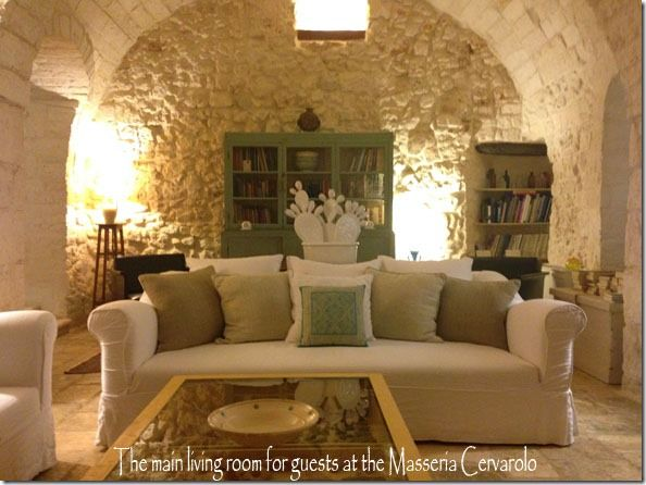 The Masseria Cervarolo near Ostuni, in Puglia, Italy.