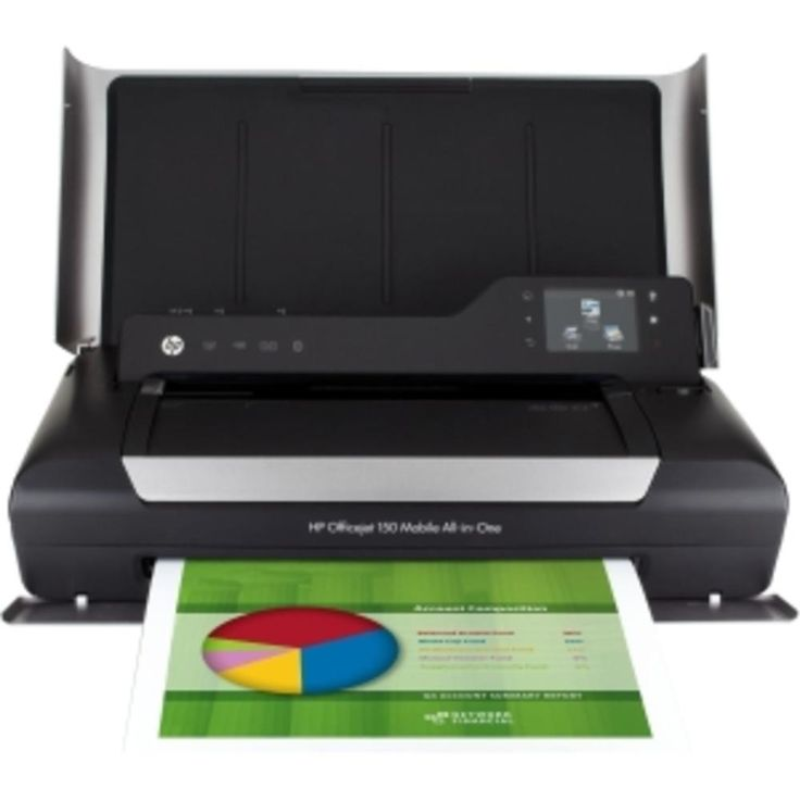 HP OfficeJet 150 InkJet L511a Mobile All-in-One MultiFunction Color Printer Scanner Copier CN550A#B1H