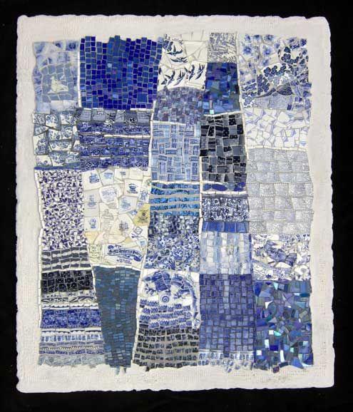 Mosaic Quilts, abstract art quilts by Cynthia Fisher - BIGBANGMOSAICS